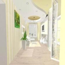 Разработка дизайна натяжного потолка